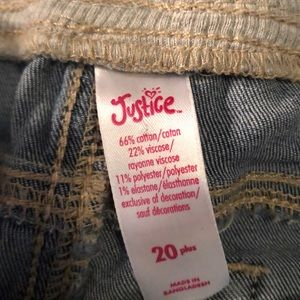 Justice Shorts - Junior jean short.   Qty 2 avail.